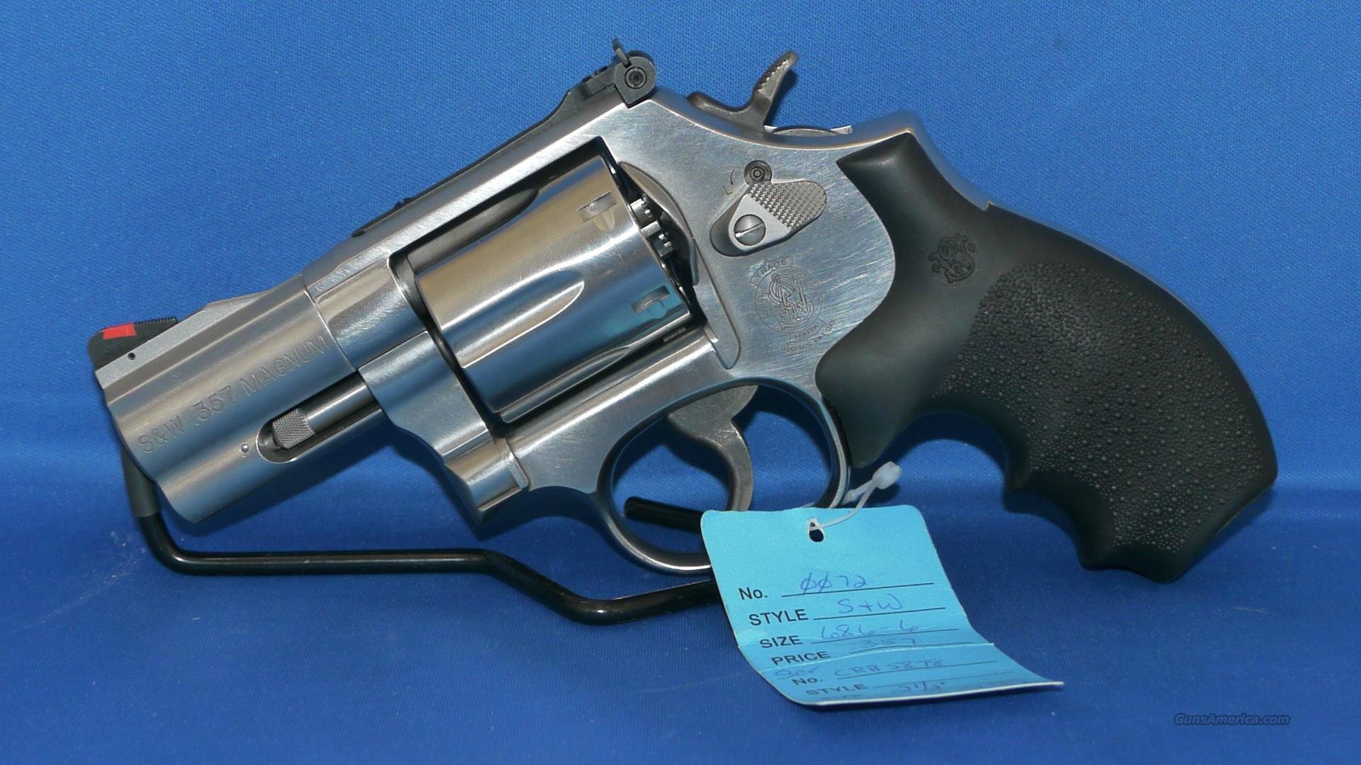 Smith and Wesson Model 686-2 .357 Mag 6 Shot Revolver  Guns > Pistols > Smith & Wesson Revolvers > Pocket Pistols