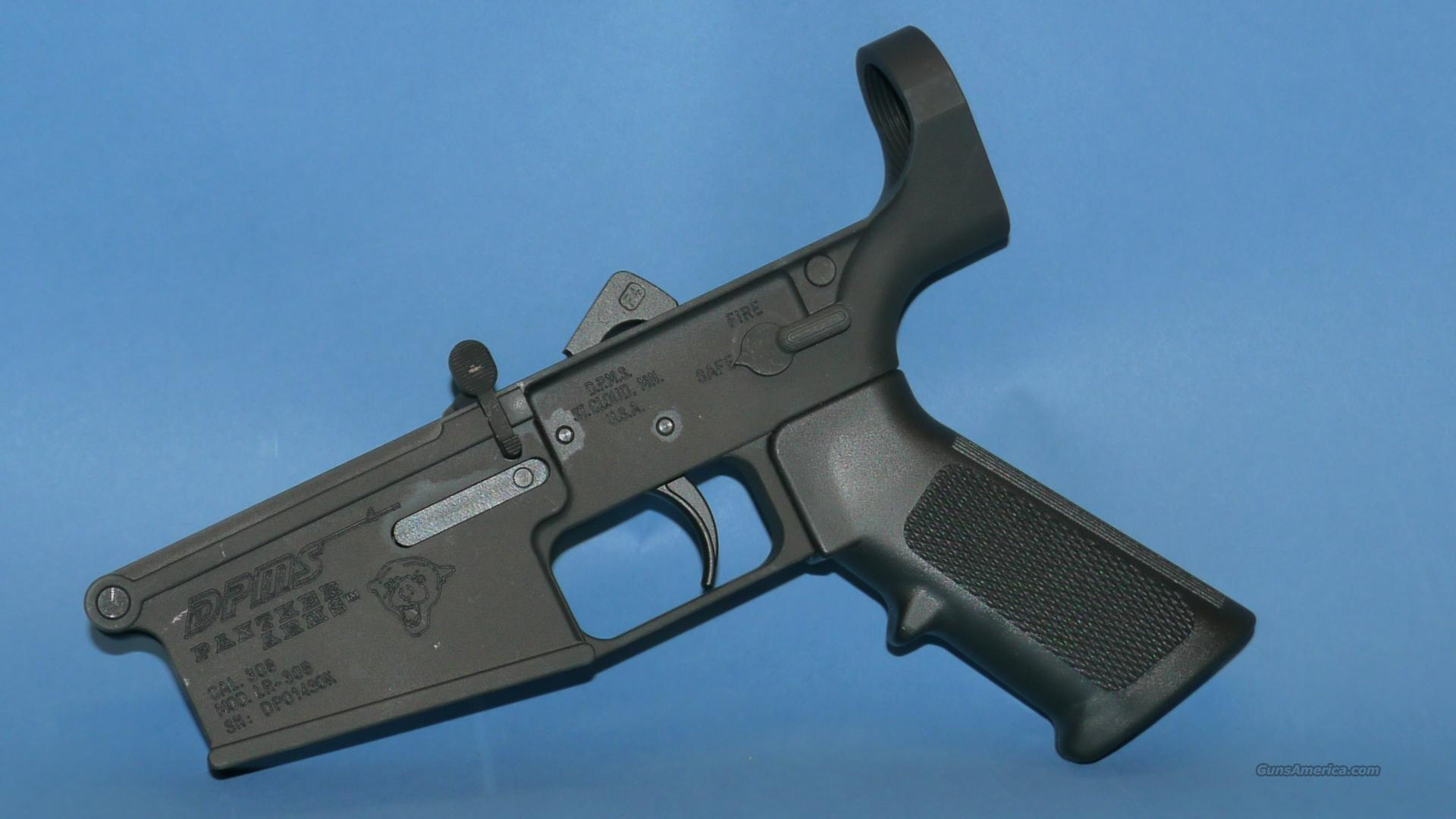 DPMS .308 Lower Receiver Assembled Minus Buttstock  Guns > Rifles > DPMS - Panther Arms > Lower Only