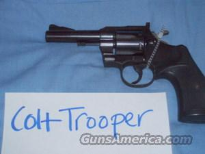 Colt Trooper  Guns > Pistols > Colt Single Action Revolvers - 3rd Gen.