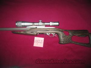 Ruger 10-22 & Weaver Scope  Guns > Rifles > Ruger Rifles > 10-22