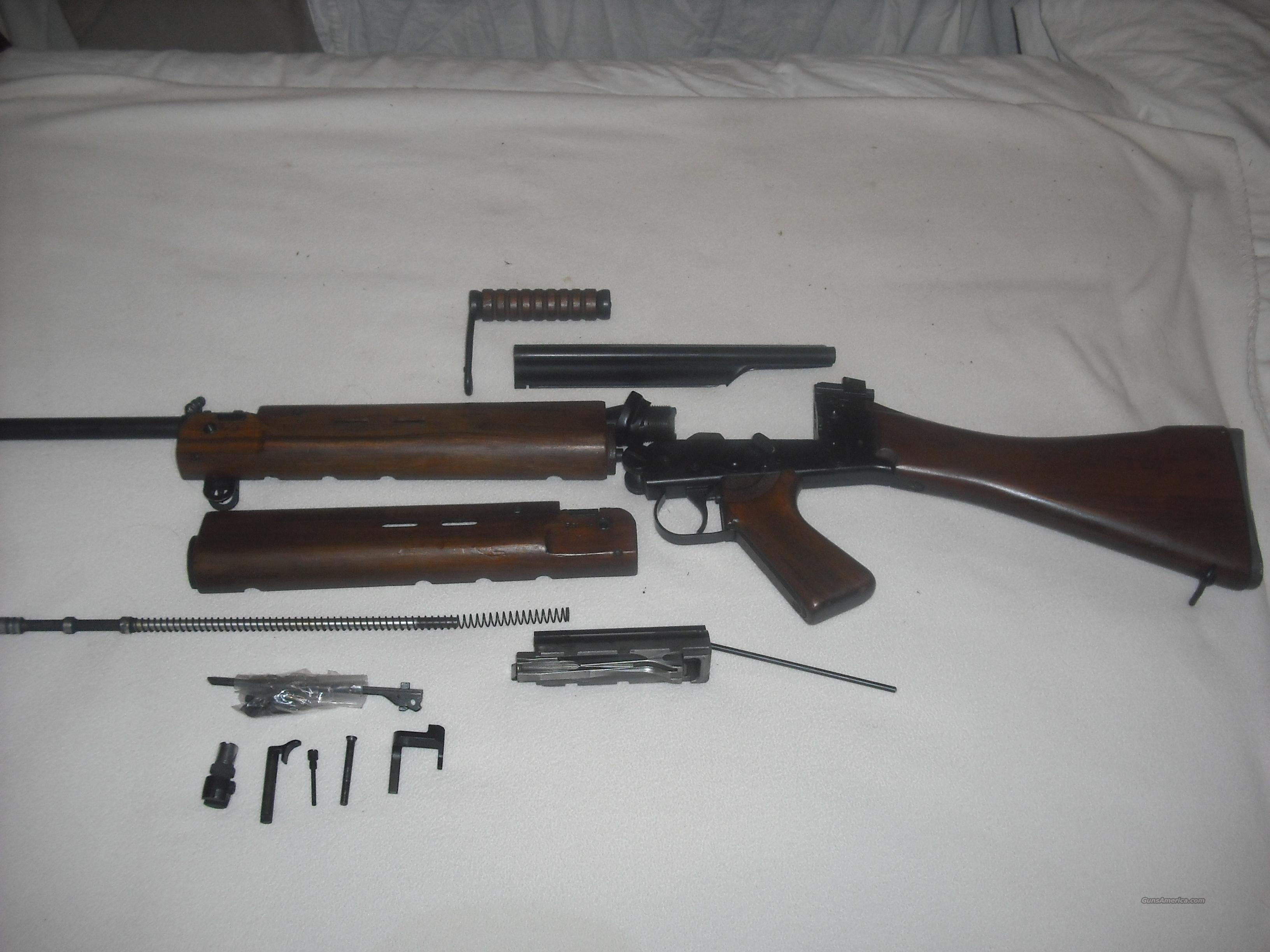 FN FAL L1A1 PARTS KIT Circa 1960 For Sale
