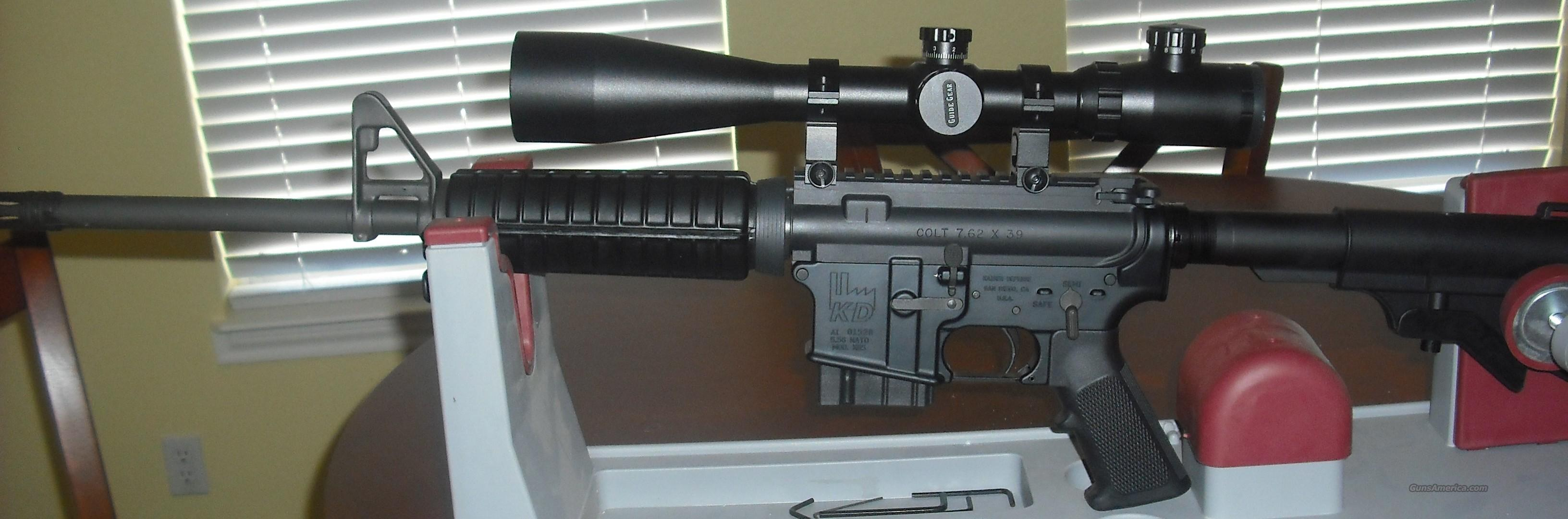 AR-15 , COLT upper in 762x39 with  scope   Guns > Rifles > AR-15 Rifles - Small Manufacturers > Complete Rifle