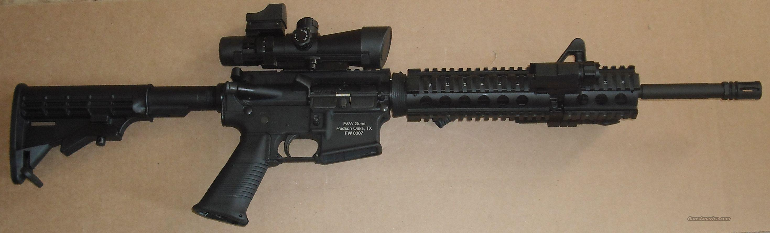 AR-15 With Quad rail and extras DPMS  Guns > Rifles > AR-15 Rifles - Small Manufacturers > Complete Rifle