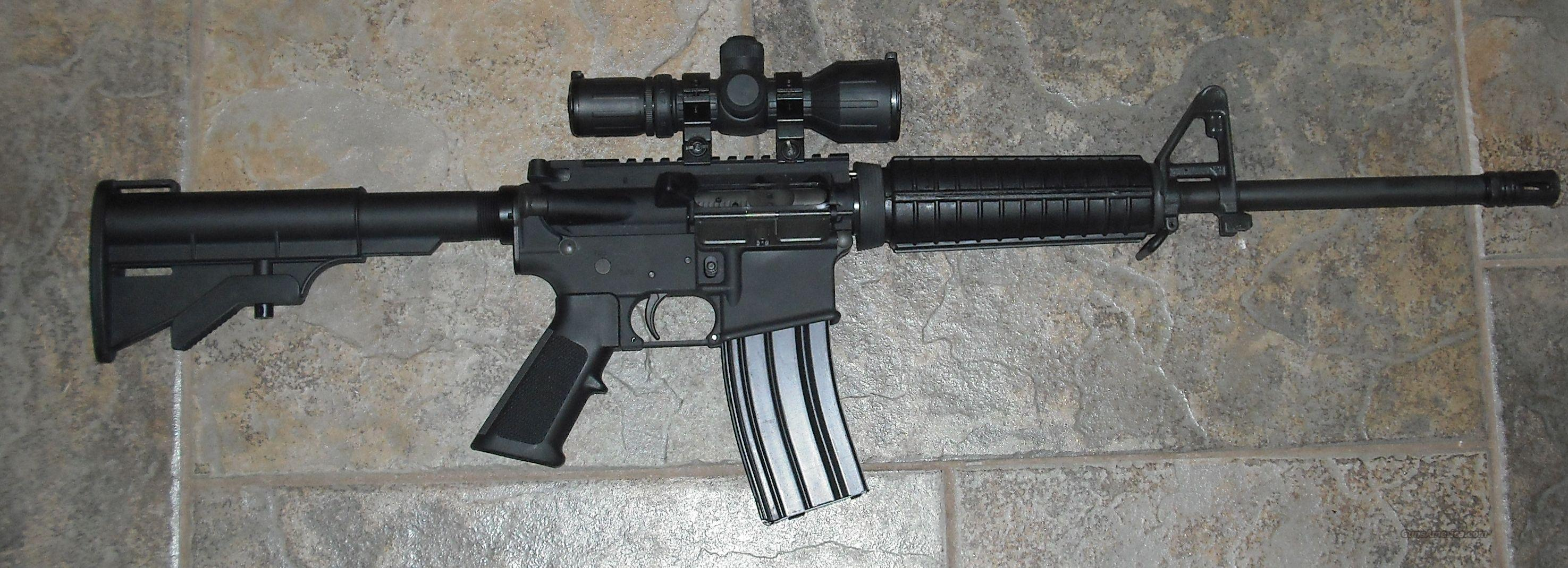 DPMS with Scope  Guns > Rifles > AR-15 Rifles - Small Manufacturers > Complete Rifle