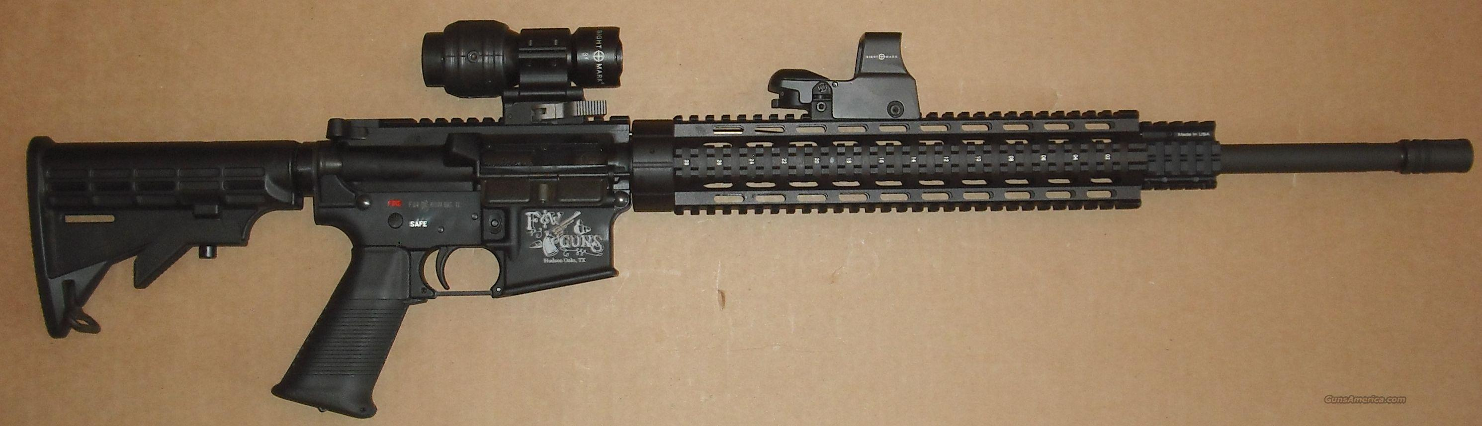 AR-15 Custom Built with scope and extras  Guns > Rifles > AR-15 Rifles - Small Manufacturers > Complete Rifle