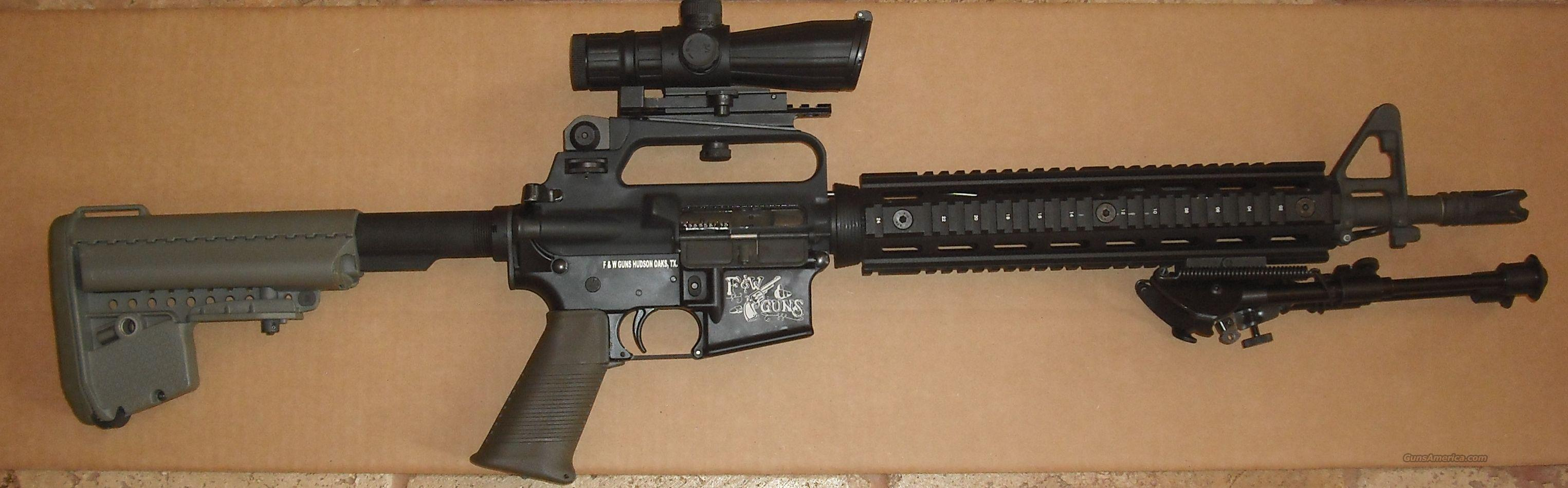 "AR-15 20"" barrel and scope plus more  Guns > Rifles > AR-15 Rifles - Small Manufacturers > Complete Rifle"