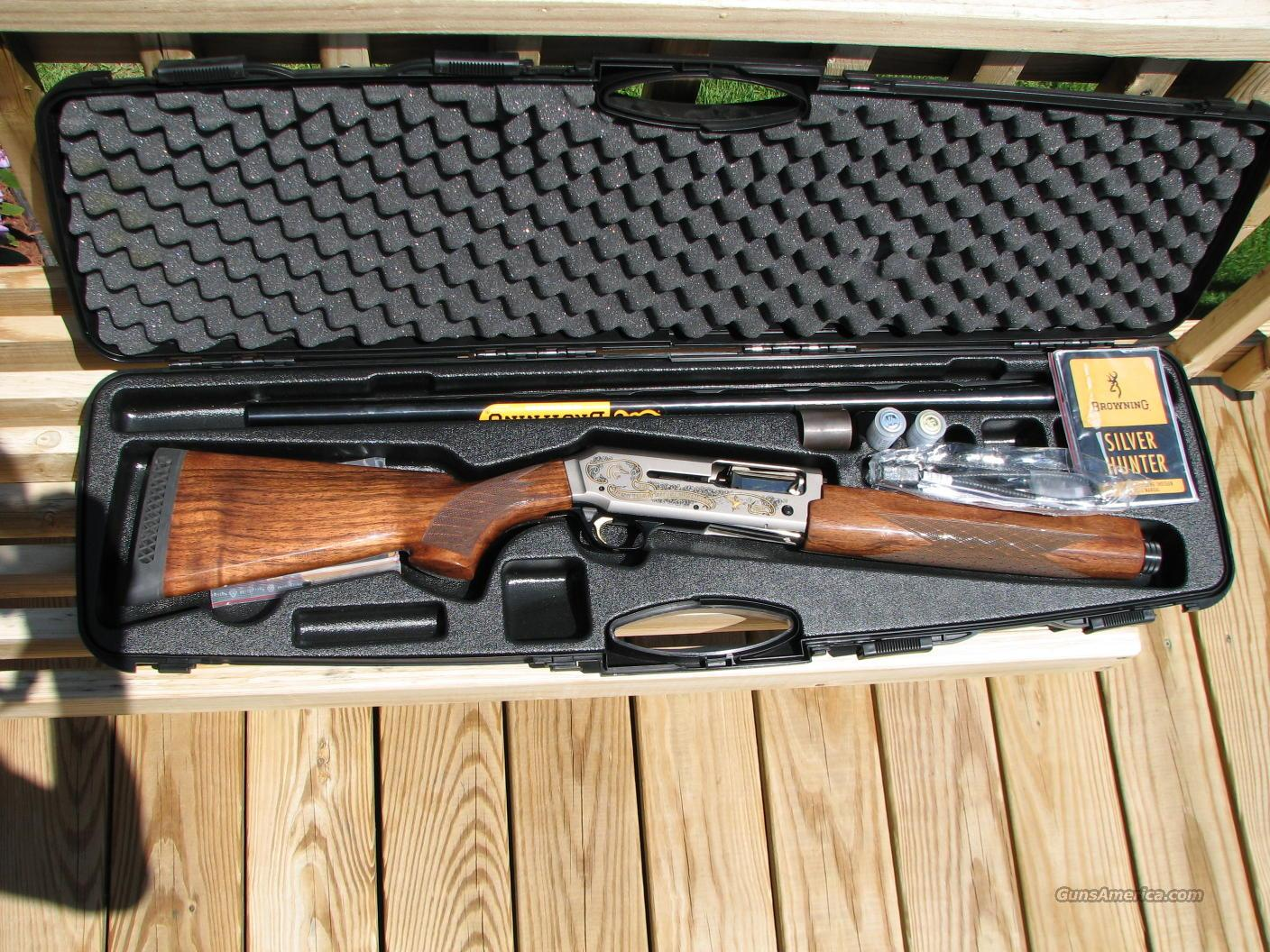 Ducks Unlimited Silver Hunter  Guns > Shotguns > Browning Shotguns > Autoloaders > Hunting
