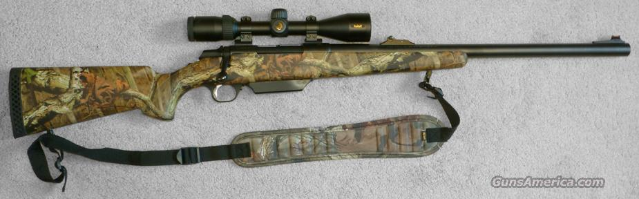 Browning A-Bolt 12 gauge Mossy Oak Rifled Slug Gun with Nikon Optics  Guns > Shotguns > Browning Shotguns > Single Barrel