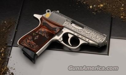 WALTHER PPK/S RKE 380 CAL. ENGRAVED STAINLESS 1 OF 400 *NEW*    Guns > Pistols > Walther Pistols > Post WWII > PPK Series