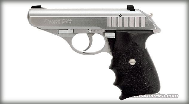 SIG SAUER P232 STAINLESS W/ HOGUE GRIPS & TRITIUM NIGHT SIGHTS *NEW*    Guns > Pistols > Sig - Sauer/Sigarms Pistols > P232