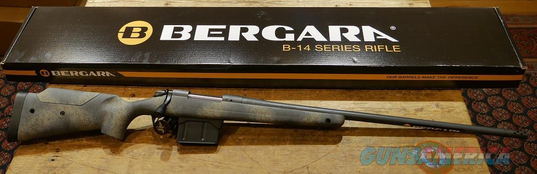 Bergara B-14 Wilderness Terrain .300PRC  Guns > Rifles > Bergara Rifles
