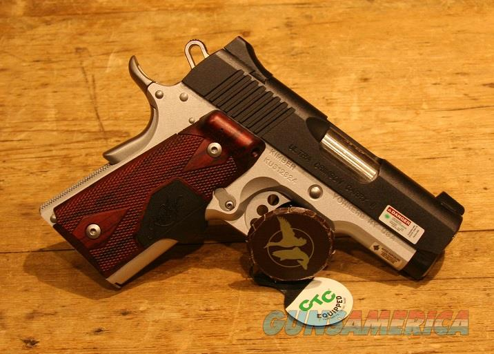 Kimber Ultra Crimson Carry II .45acp Green Laser 3200290  Guns > Pistols > Kimber of America Pistols