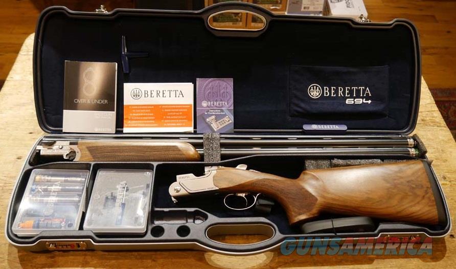 "Beretta 694 Sporting 12ga 30"" Left Handed!  Guns > Shotguns > Beretta Shotguns > O/U > Trap/Skeet"