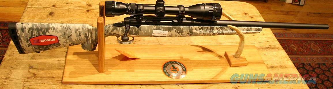 Savage Axis II 22-250 w/ Bushnell 3-9x40 Digital Camo FALL SALE  Guns > Rifles > Savage Rifles > Axis