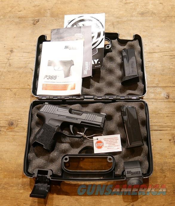 Sig Sauer P365 9mm 10+1 Micro-Compact  Guns > Pistols > Sig - Sauer/Sigarms Pistols > P365