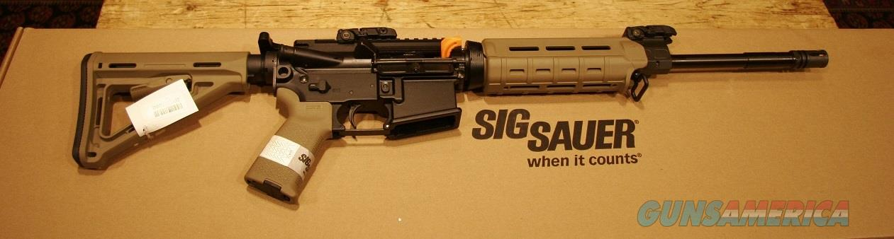 Sig Sauer M400 Enhanced FDE 5.56/.223  Guns > Rifles > Sig - Sauer/Sigarms Rifles