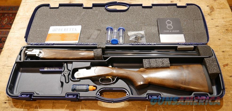 Beretta 686 Silver Pigeon I 28ga *Great Wood*  Guns > Shotguns > Beretta Shotguns > O/U > Hunting