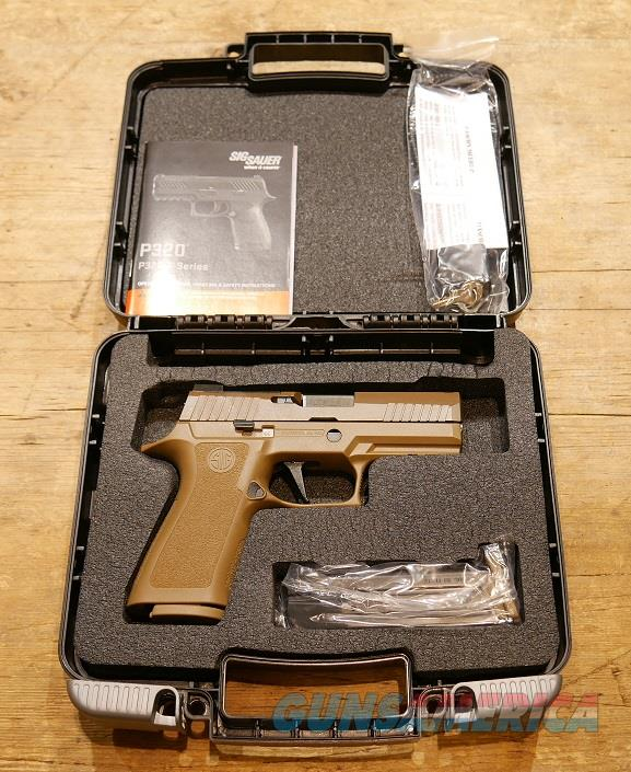 Sig Sauer P320 X-Carry Coyote 9mm  Guns > Pistols > Sig - Sauer/Sigarms Pistols > P320