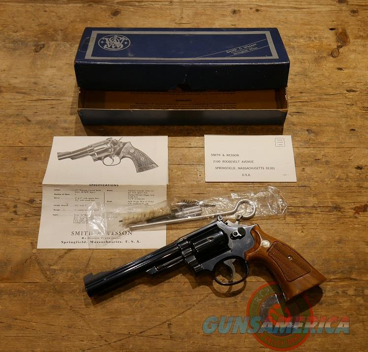 """Smith & Wesson 19-3 .357 Mag 6""""  Guns > Pistols > Smith & Wesson Revolvers > Med. Frame ( K/L )"""