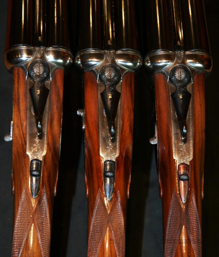 Crown Arietta set of Three 12ga Shotguns  Guns > Shotguns > Arrieta Shotguns