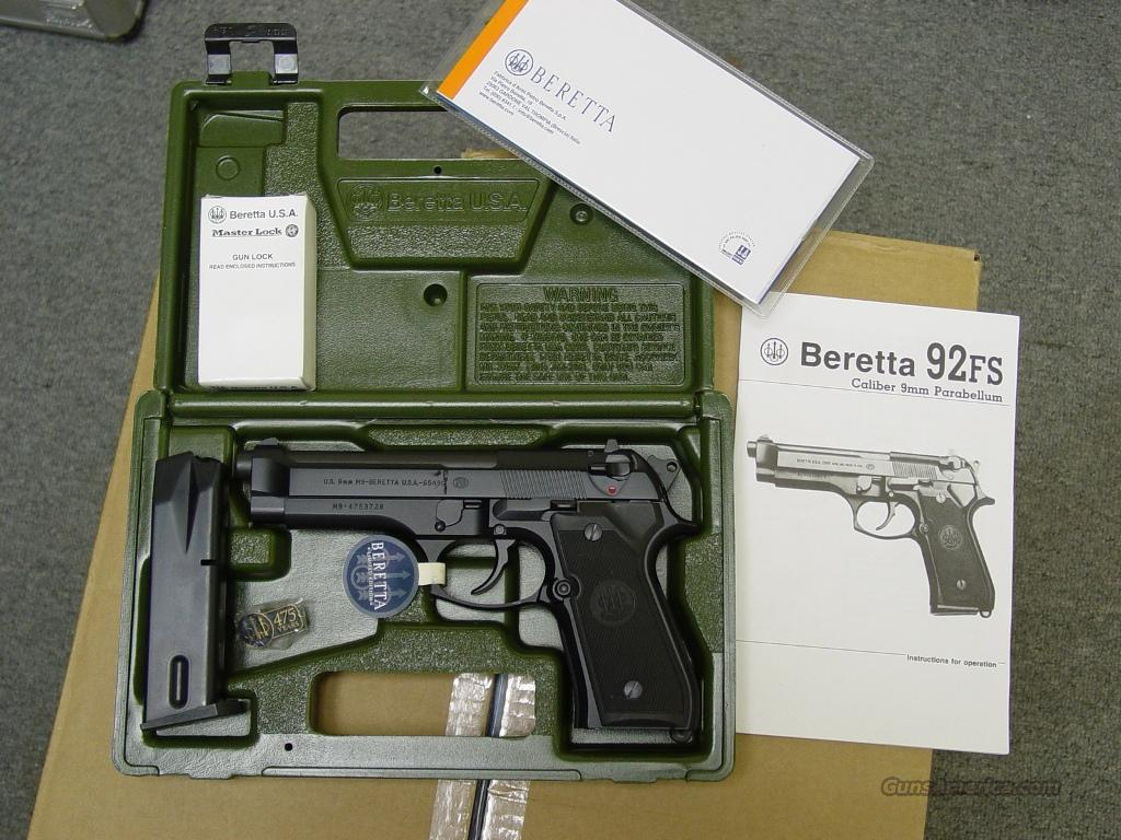 "Beretta M9  ""Limited Edition, 1 of 5000"" pistol, NIB  Guns > Pistols > Beretta Pistols > Model 92 Series"