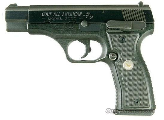 Colt All American 2000 9mm  Guns > Pistols > Colt Replica (American) Pistols