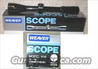 Weaver Model V10 2X-10X Variable Magnification  Non-Guns > Scopes/Mounts/Rings & Optics > Rifle Scopes > Variable Focal Length