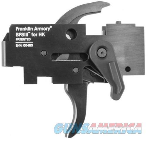 FRANKLIN ARMORY BFSIII BINARY TRIGGER HK MP5 SP5K H&K MP5 93 91 SP89 VECTOR POF ZENITH BFS III HK-C1  Non-Guns > Gun Parts > Misc > Pistols