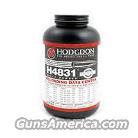 10# HODGDON H4831 10-1LB H 4831 RIFLE POWDER  Non-Guns > Reloading > Components > Other