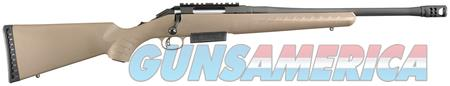 RUGER AMERICAN RANCH 450 BUSHMASTER W/BRAKE FDE 16950 NOT AR15 OR AMERICAN 450 BOLT WALSH GUN & TACKLE  Guns > Rifles > Ruger Rifles > American