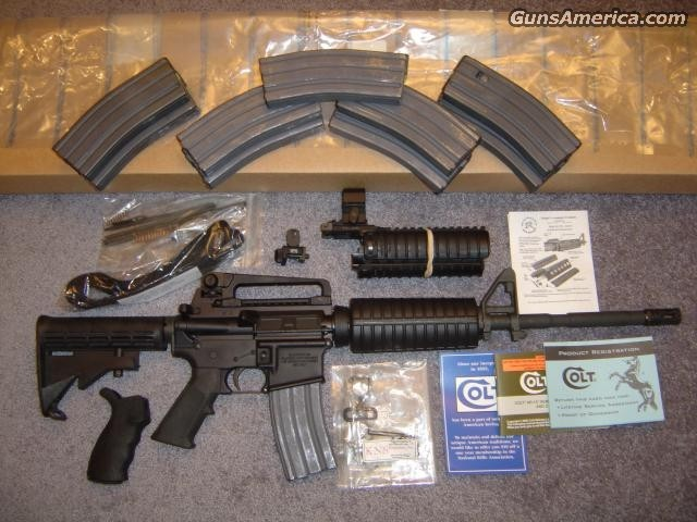 "Colt ""Operator"" M4 Package  Guns > Rifles > Tactical Rifles Misc."