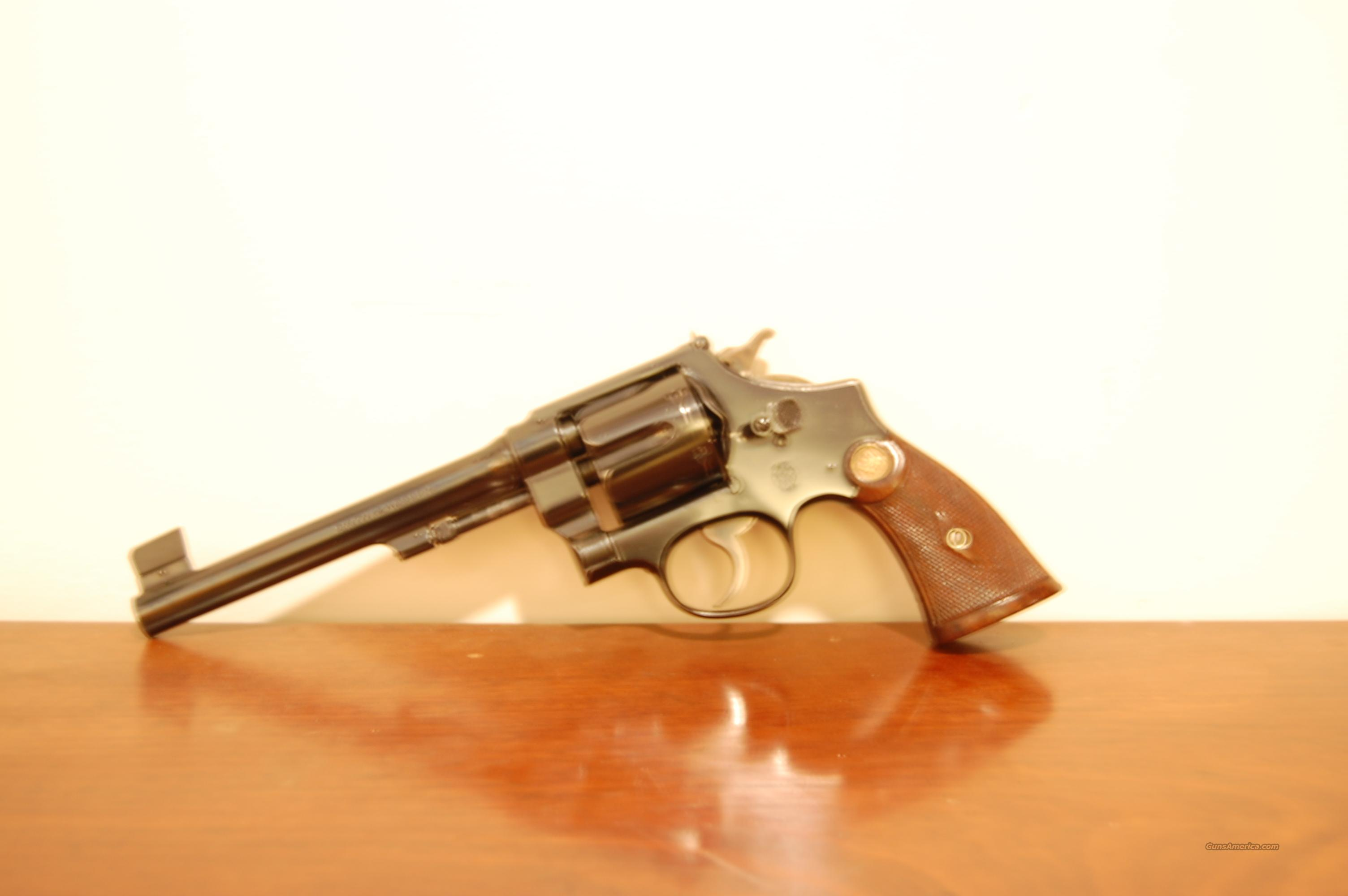 .44 Hand Ejector 2nd Model TARGET  Guns > Pistols > Smith & Wesson Revolvers > Pre-1945