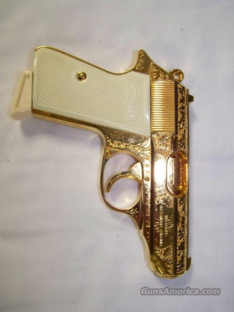 Walther PPK/S German GOLD ENGRAVED  Guns > Pistols > Walther Pistols > Post WWII > PP Series