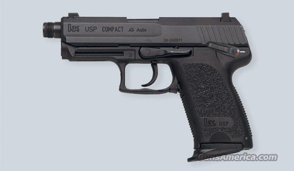 BNIB, HK USP Compact Tactical, .45acp, threaded brl.,   Guns > Pistols > Heckler & Koch Pistols > Polymer Frame