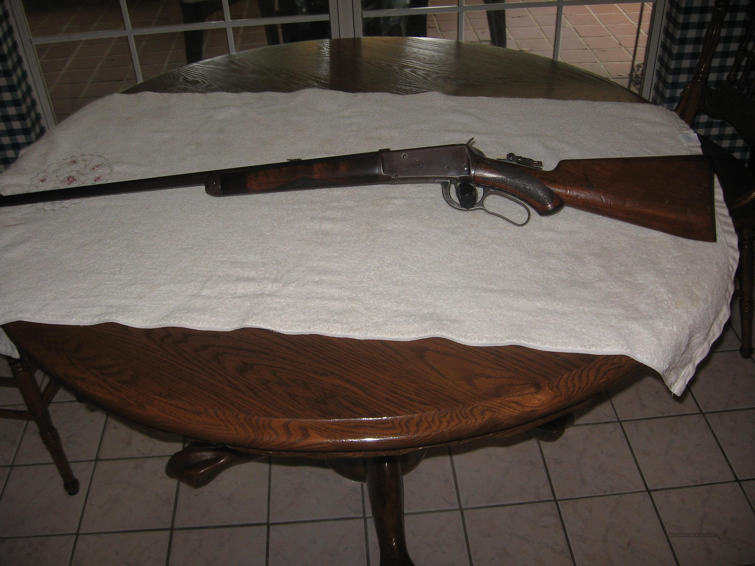 Winchester 94 Fancy Sporting Rifle  Guns > Rifles > Winchester Rifles - Pre-1899 Lever