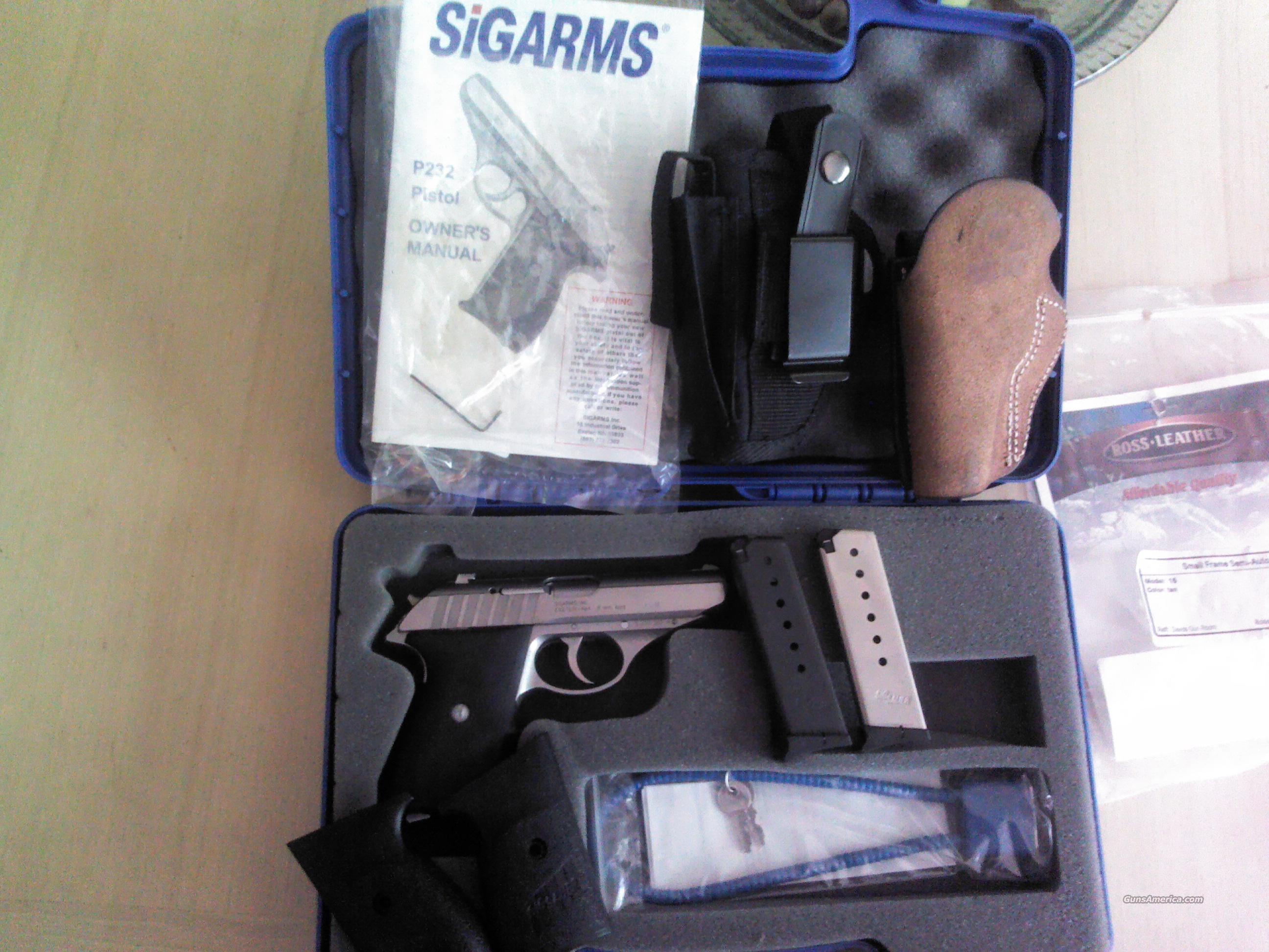 Sig Sauer P232 Stainless  Guns > Pistols > Sig - Sauer/Sigarms Pistols > P232
