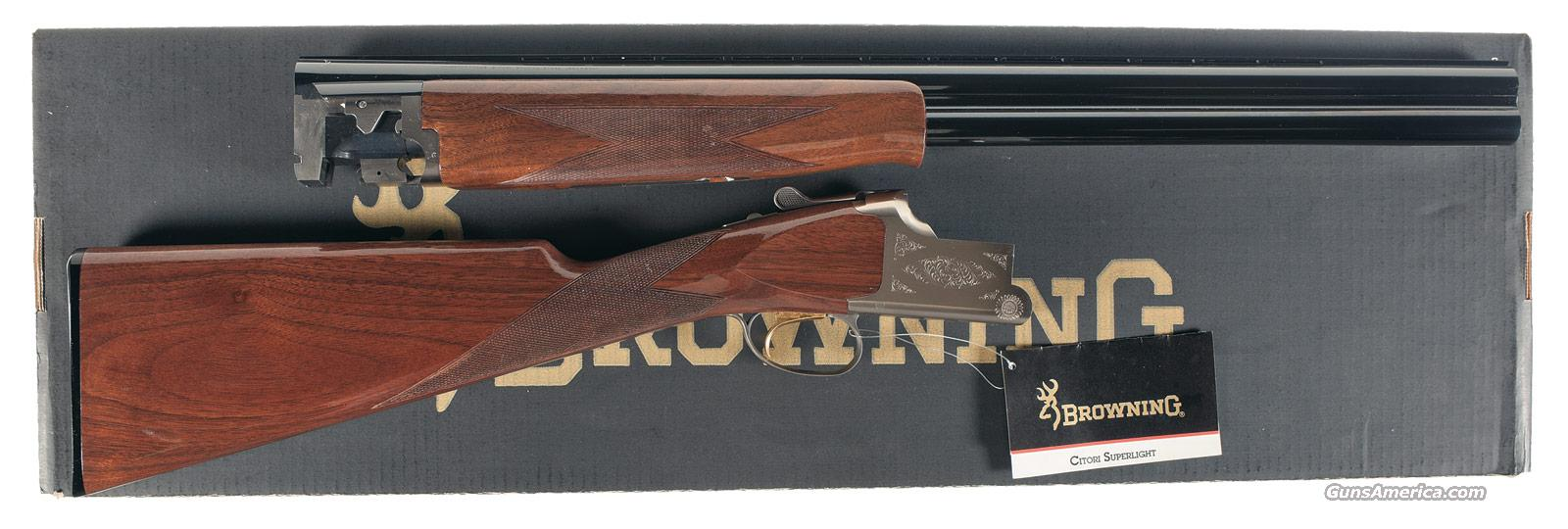 Browning Citori Superlight Feather  Guns > Shotguns > Browning Shotguns > Over Unders > Citori > Hunting