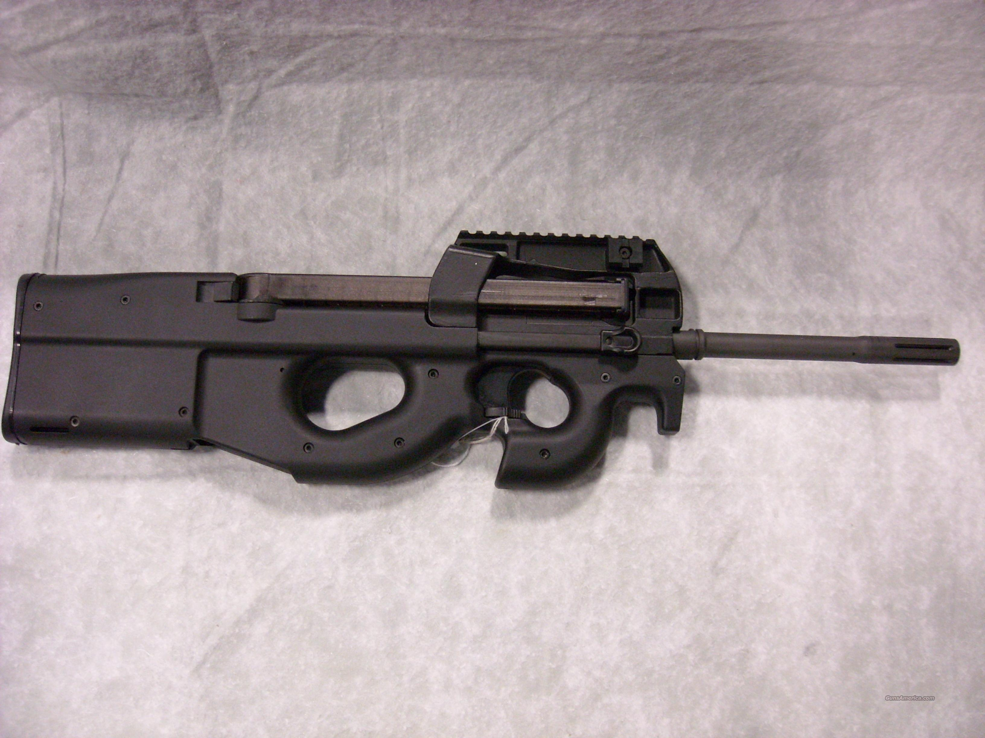 PS90 TR (Triple Rail) Semi-auto Carbine, Black  Guns > Rifles > FNH - Fabrique Nationale (FN) Rifles > Semi-auto > PS90