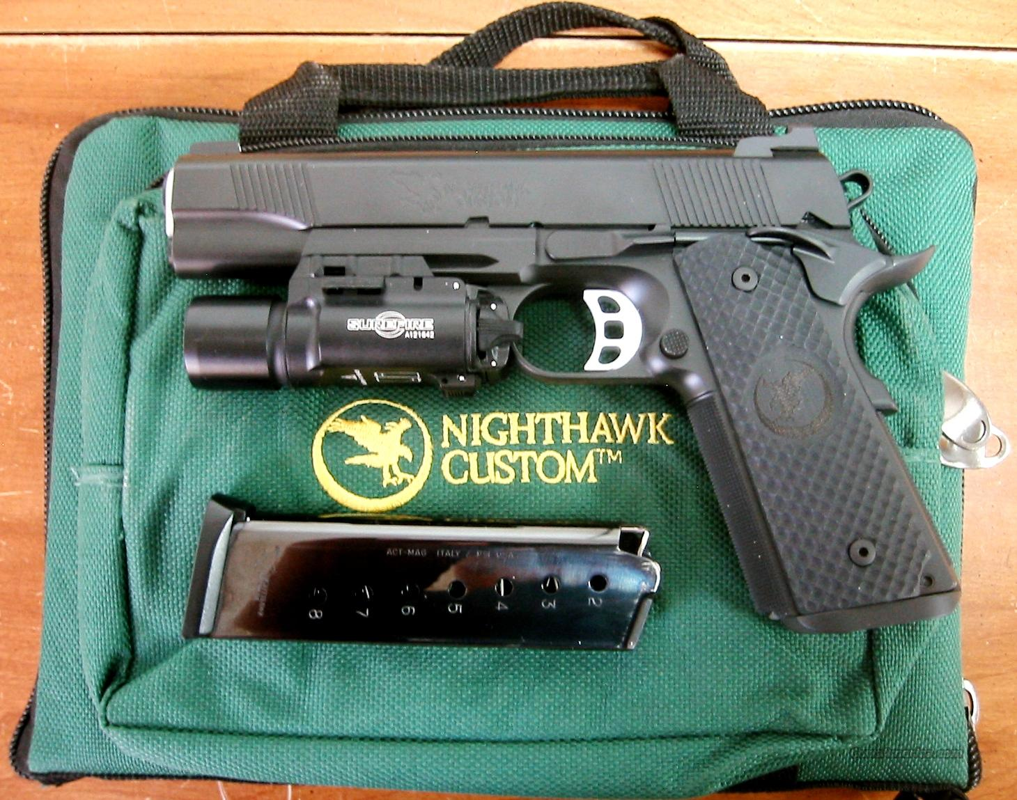 "Nighthawk Global Response Pistol 5"" barrel 45ACP  Guns > Pistols > Nighthawk Pistols"