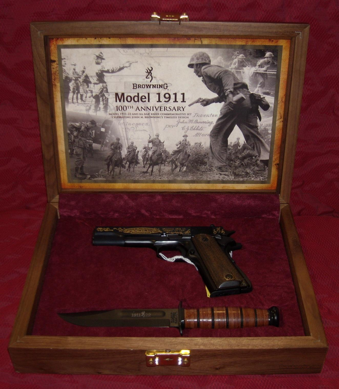 Browning 100th anniversary 1911-22  Guns > Pistols > Browning Pistols > Other Autos