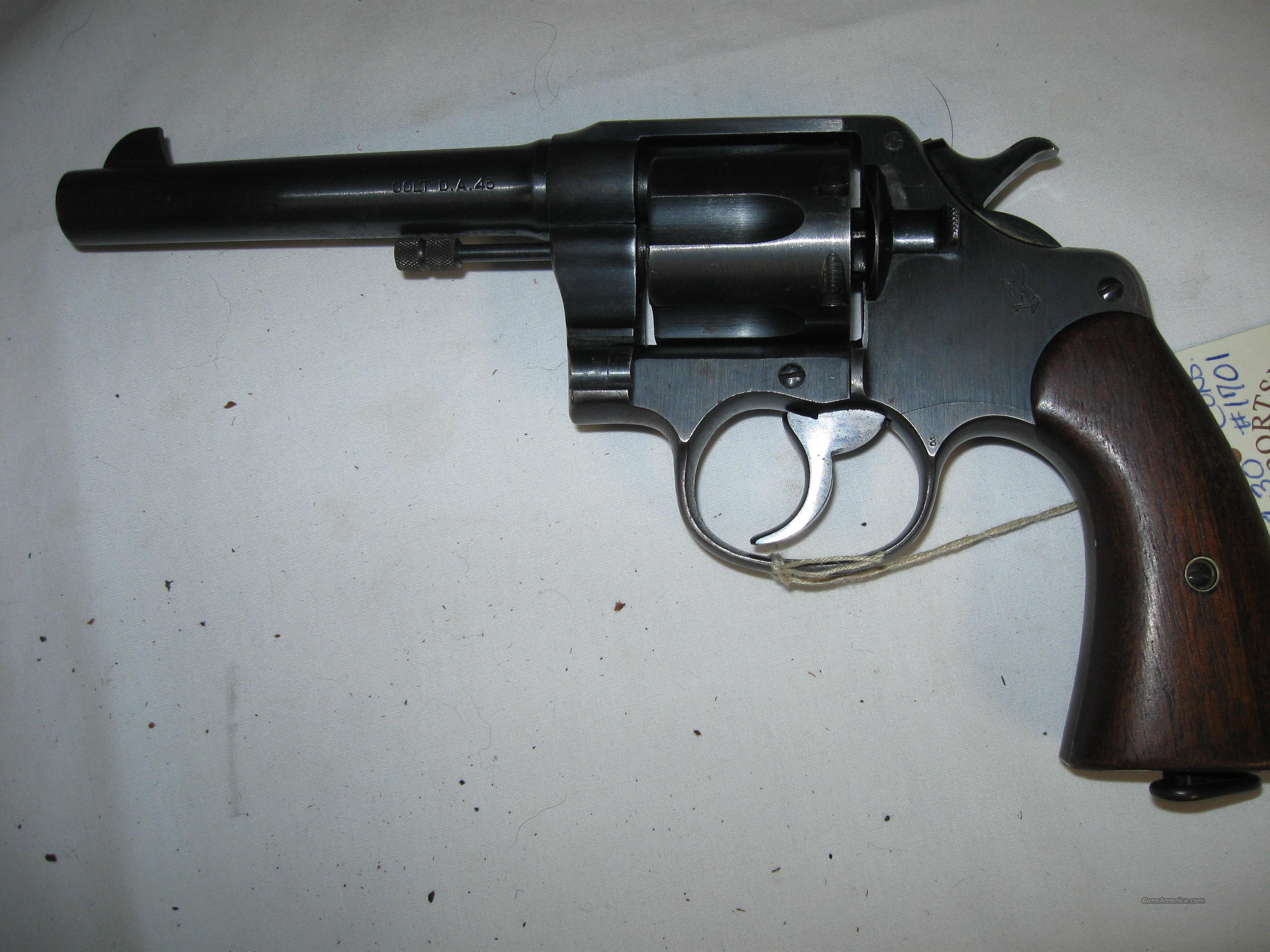 Colt Model 1917 in 45 ACP  Guns > Pistols > Colt Double Action Revolvers- Pre-1945
