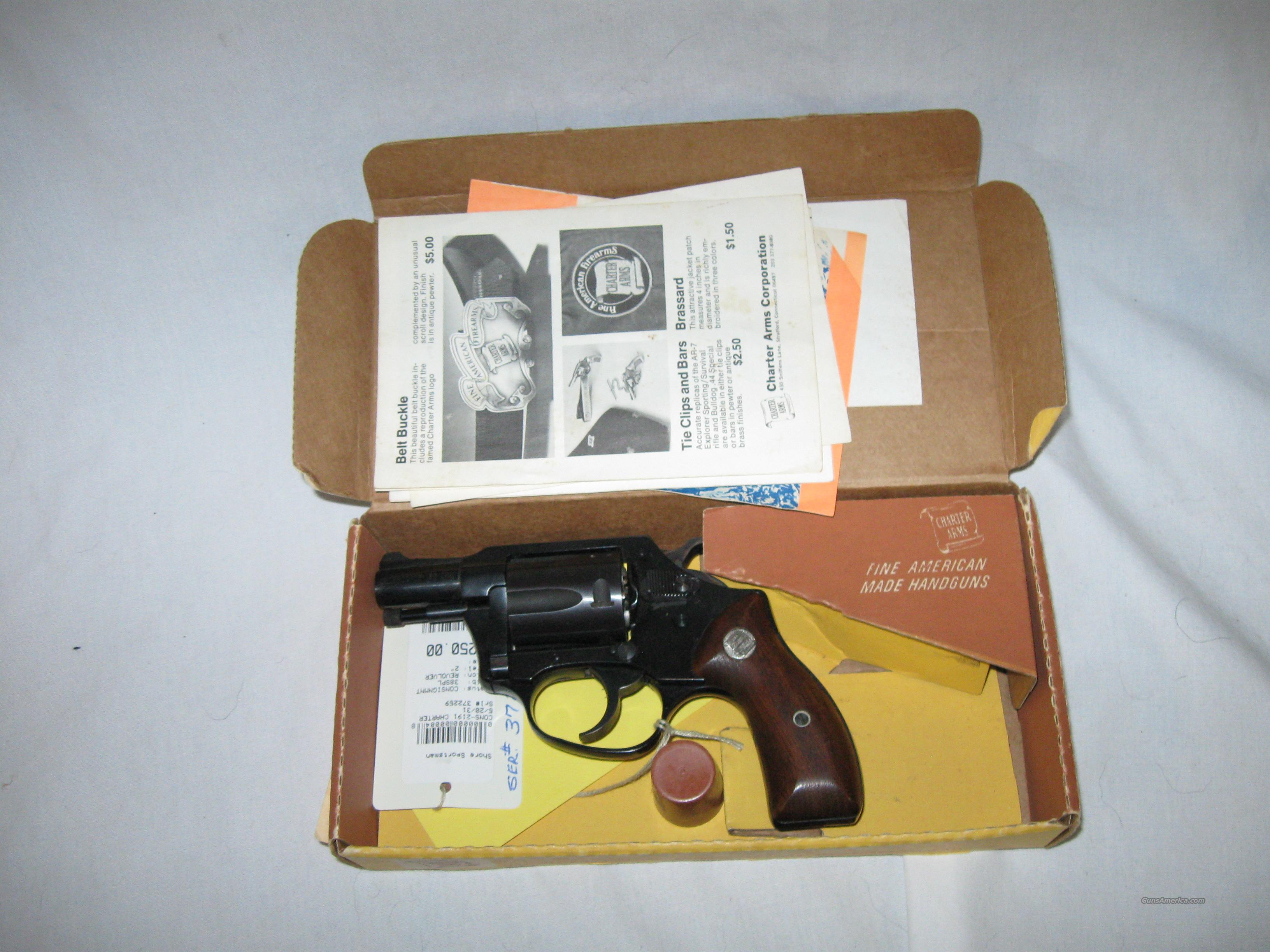 Charter Arms  Model 1382 Undercover   Guns > Pistols > Charter Arms Revolvers
