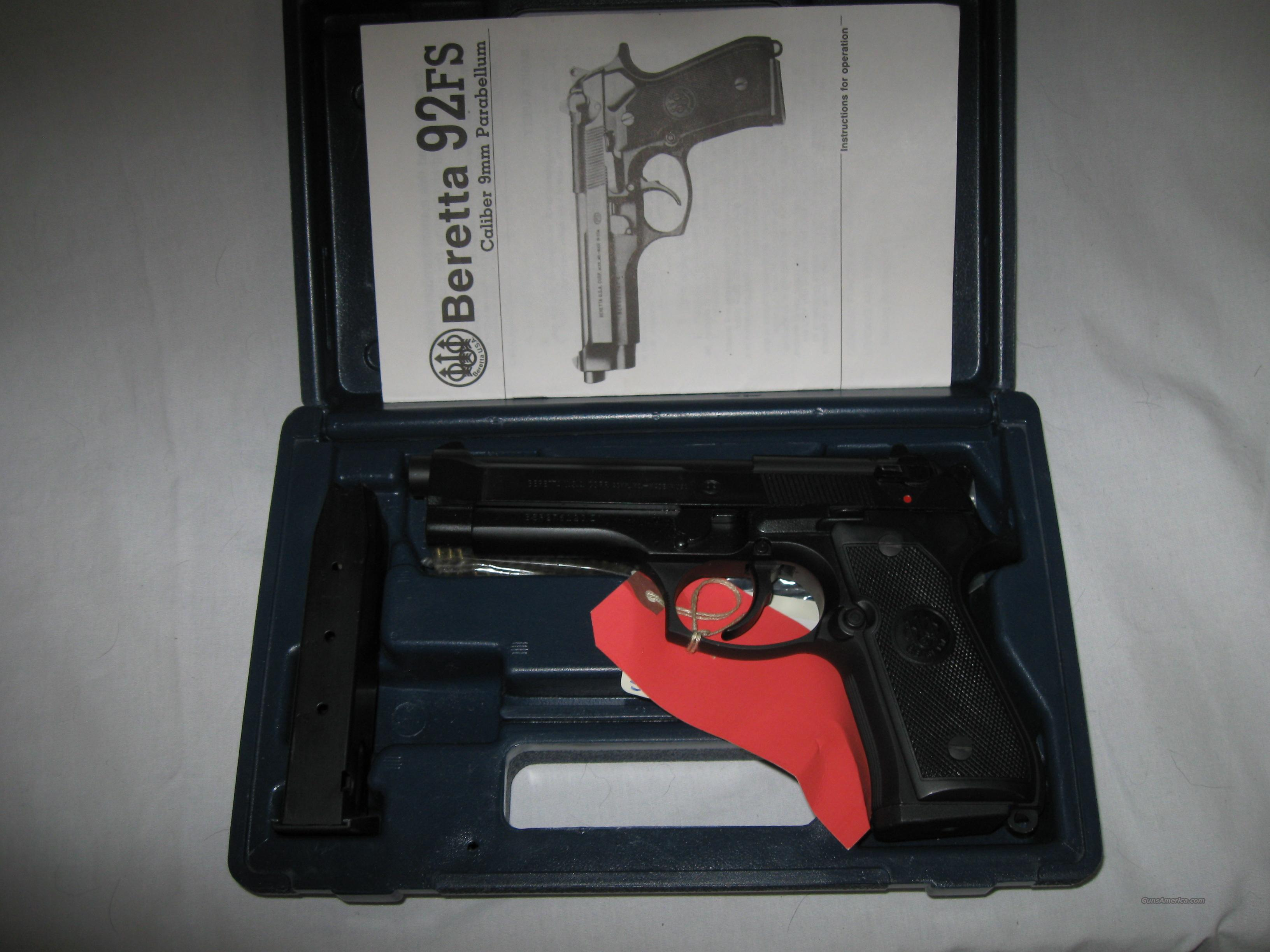 Beretta Model 92FS in  9mm  Guns > Pistols > Beretta Pistols > Model 92 Series