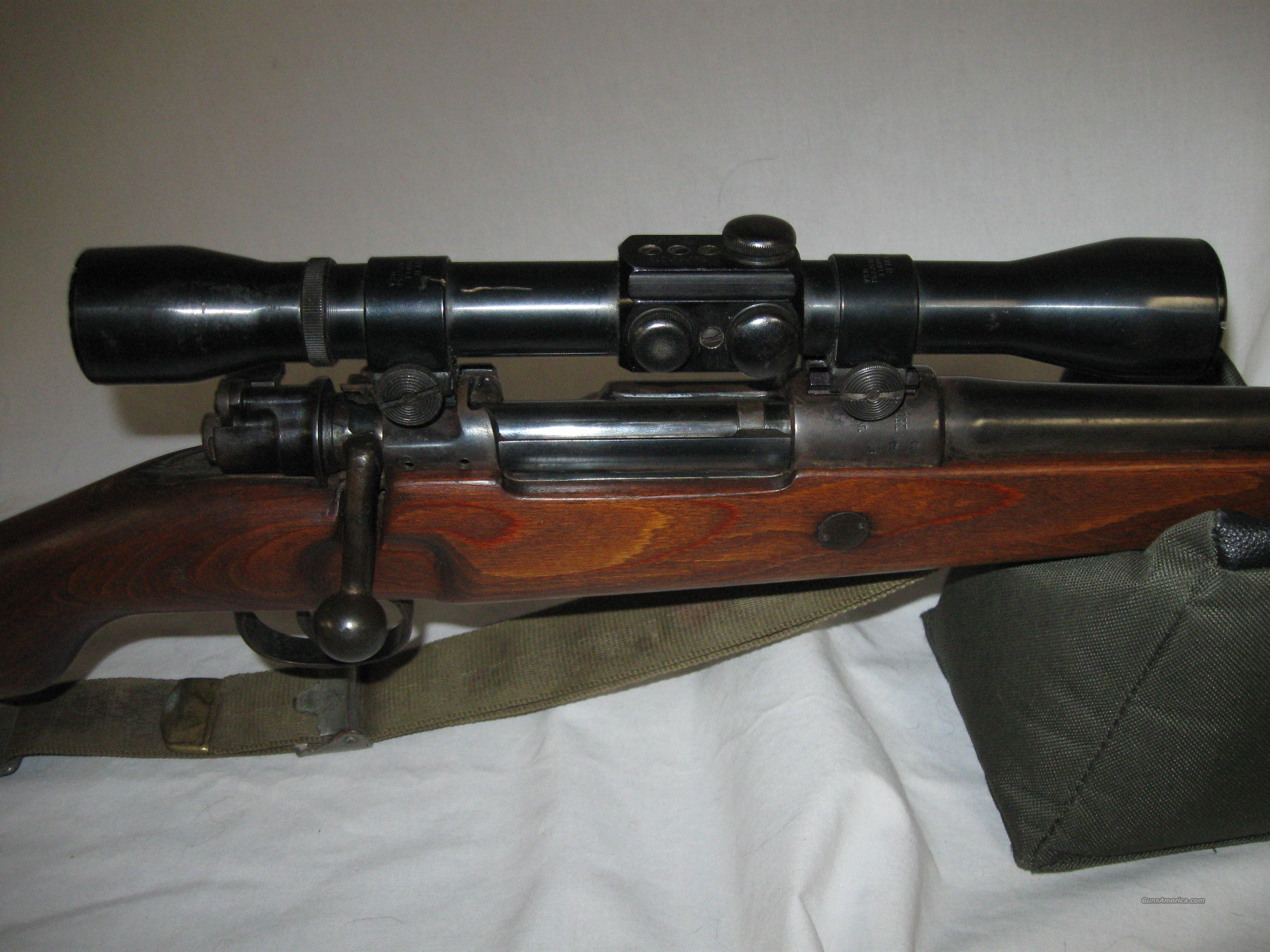 Mauser in 30-06 (sporteized)w/Weaver Scope  Guns > Rifles > Mauser Rifles > German
