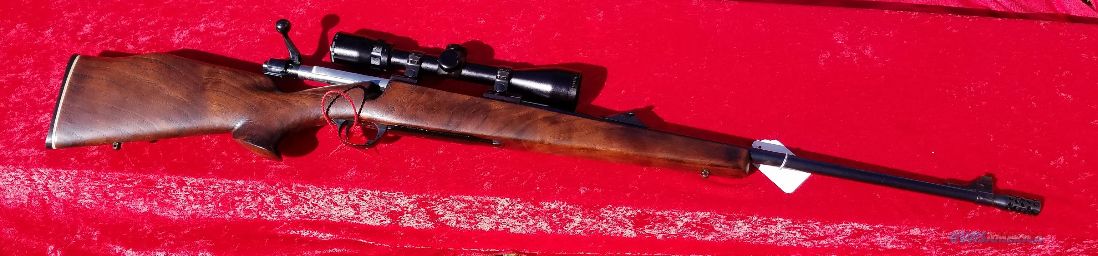 Ruger M77 30-06 Beautiful Stock GC Muzzle Break Bushnell Banner 3x9  Guns > Rifles > Ruger Rifles > Model 77