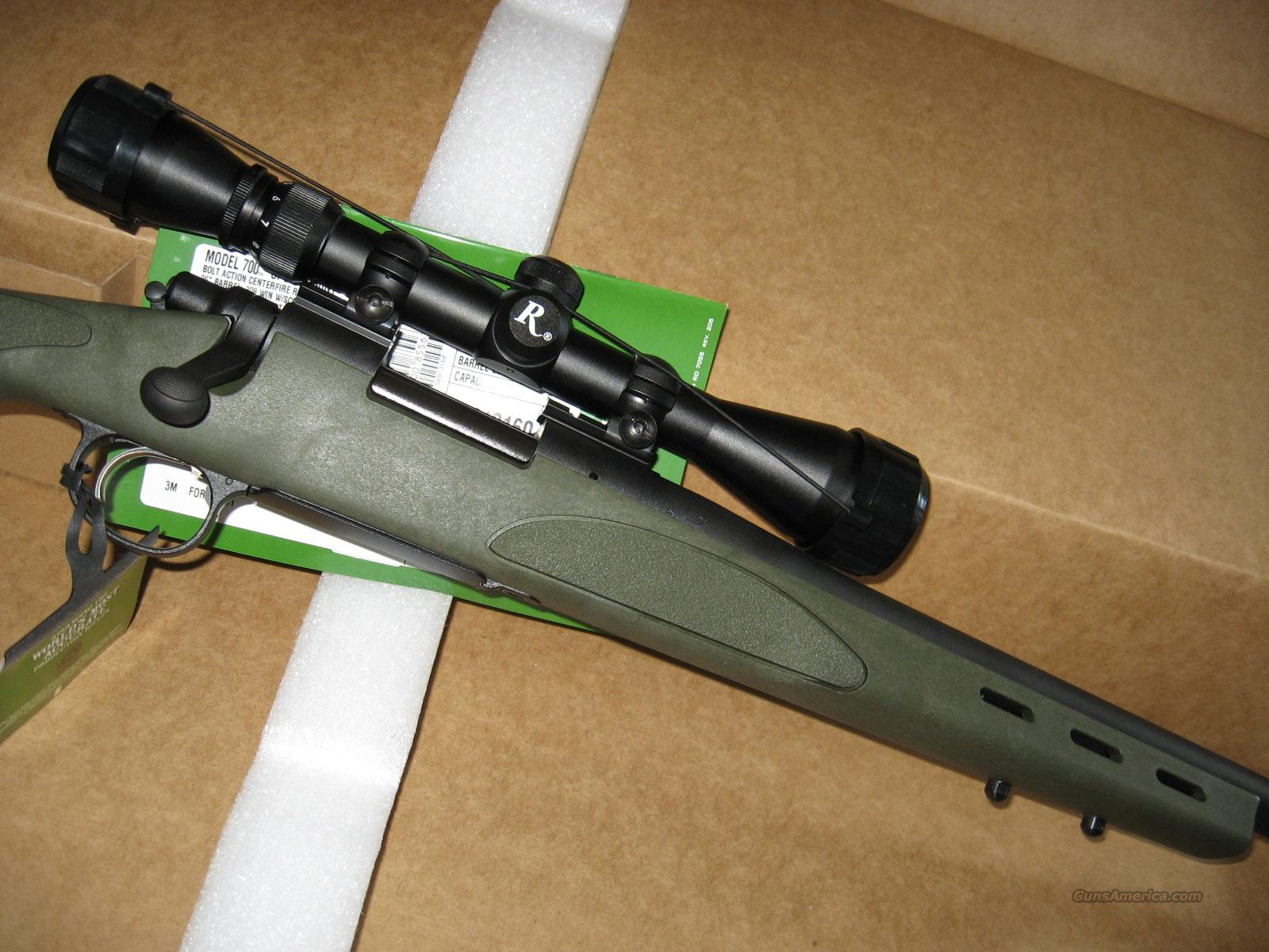 REMINGTON 700 SPS VARMINT /OD GREEN  Guns > Rifles > Remington Rifles - Modern > Model 700 > Sporting