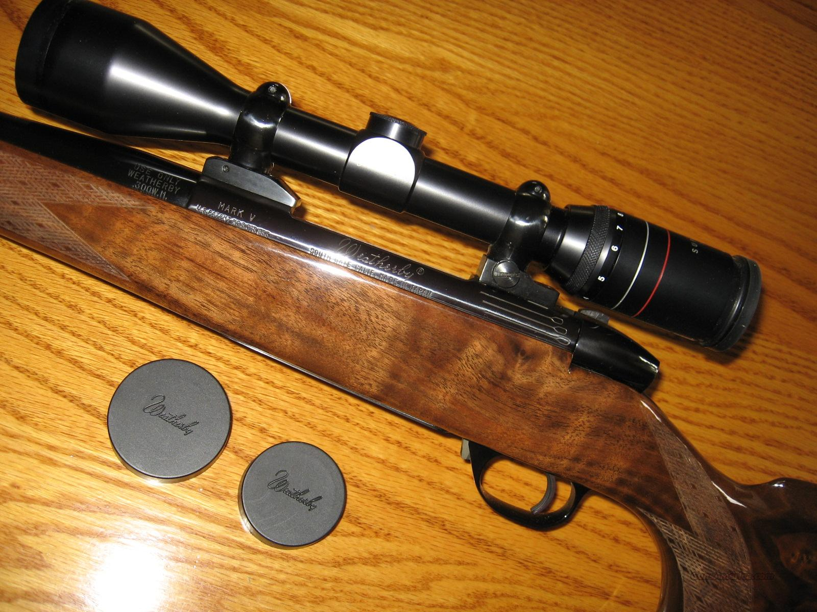 WEATHERBY MARK V/.300 WEATHERBY MAG  Guns > Rifles > Weatherby Rifles > Sporting