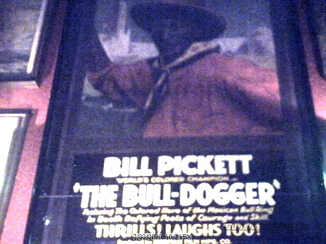 BILL PICKETT THE BULLDOGGER  Non-Guns > Artwork