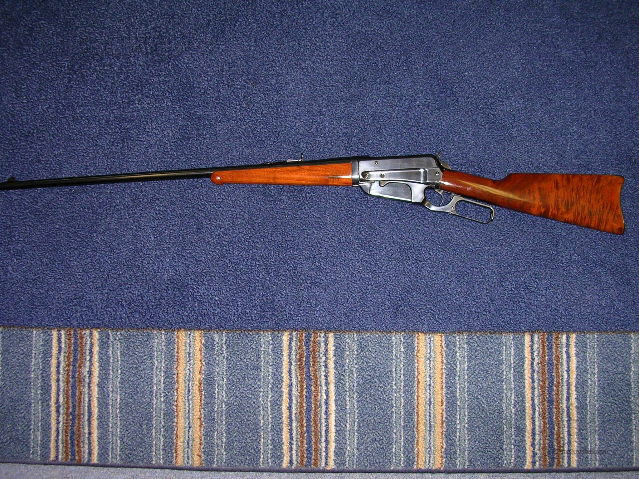 Winchester Model 1895 lever action / break down model   Guns > Rifles > Winchester Rifles - Pre-1899 Lever