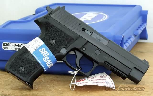 Sig Sauer P226 Navy 9mm—SAVE OVER $200!  Guns > Pistols > Sig - Sauer/Sigarms Pistols > P226